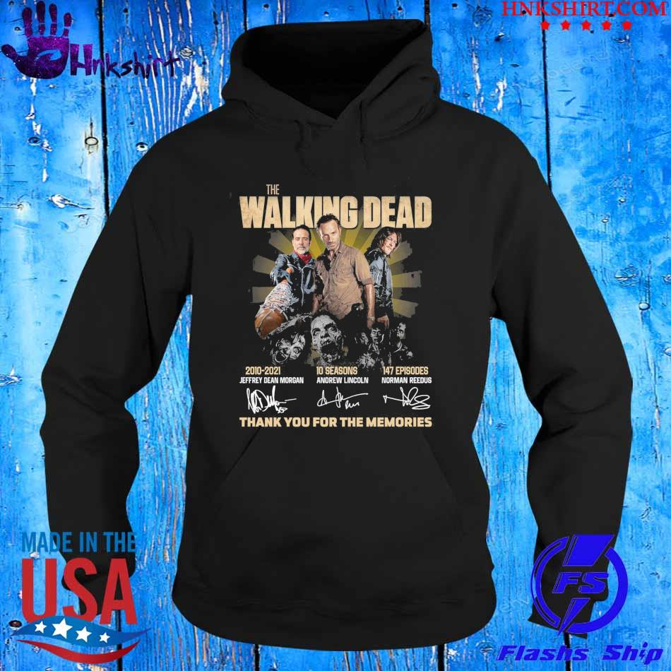 The Walking Dead 2010-2021 10 seasons 147 episodes signatures thank you for the memories s hoddie.jpg