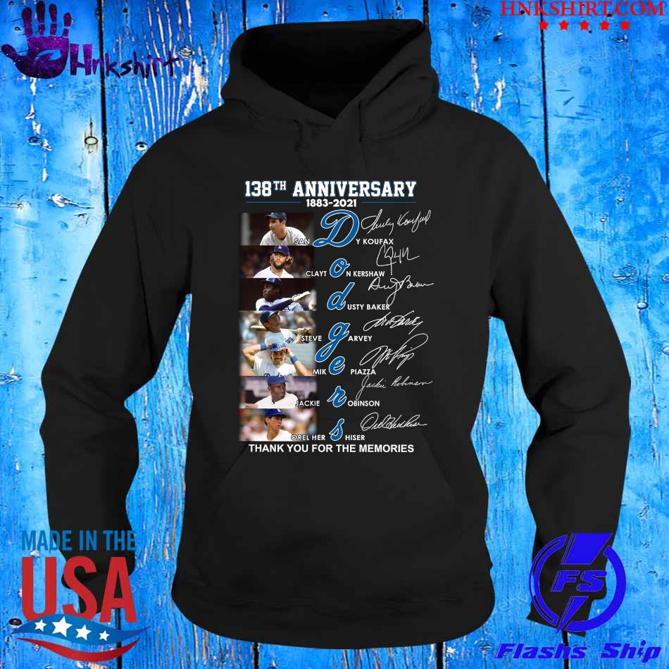 138TH Anniversary 1883 2021 Dodgers thank You for the memories signatures s hoddie.jpg