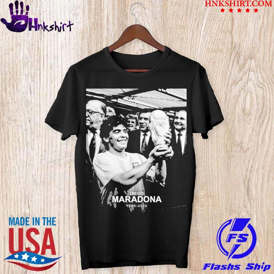 Official Rip Diego Maradona 1960 2020 shirt