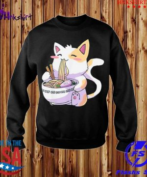 Cat Kawaii Anime Japanese Eating Ramen Shirt sweater.jpg
