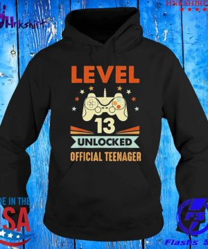 Level 13 unlocked official teenager s hoddie.jpg