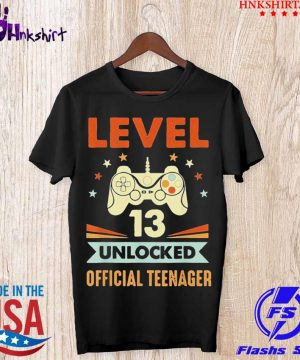 Level 13 unlocked official teenager shirt