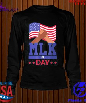 Martin Luther King Jr Day MLK Fist Freedom Shirt longsleeve.jpg